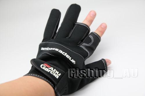 Fingerless fishing gloves ebay for Fingerless fishing gloves