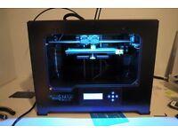 Flashforge Creator Pro 3D Printer and filament