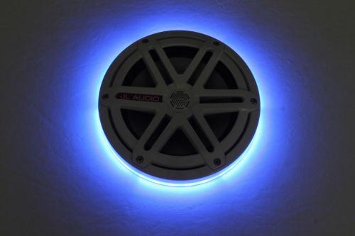 2pc LED Speaker Rings for JL Audio Marine 6.5  MX650  Ready