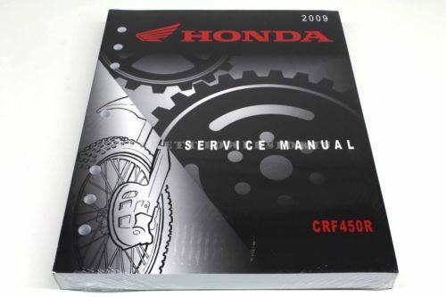 Honda Crf450r Service Manual