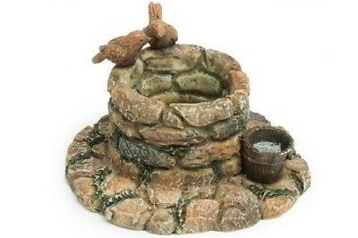 Miniature Dollhouse FAIRY GARDEN - Cobblestone Wishing Well - Accessories