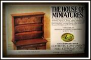 Antique Miniature Dollhouse Furniture
