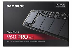 DISQUE SSD 512 GB SAMSUNG 960 PRO M.2 NVME BRAND NEW SCEALED