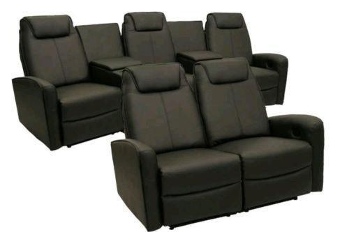 home theater seats home theater seating furniture ebay 13324