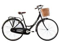 Raleigh Elegance Ladies Dutch bike with basket