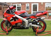 kawasaki zx6r 636 zx6 2002 very clean bike with only 16k miles loads of paperwork
