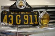1947 California License Plate