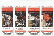 Cleveland Indians Ticket Stub