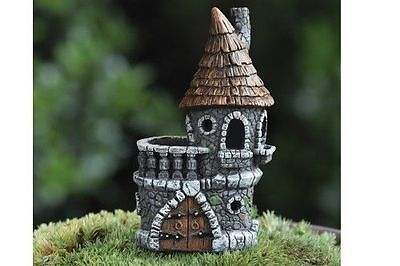 Micro Mini Fairy Castle House Miniature Fairy Garden Gnome Fiddlehead GO 17348