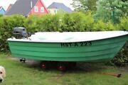 Angelboot mit Motor