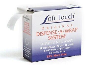 Soft touch Dispense A Wrap System Self Stick Nail Wraps SILK