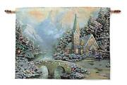 Thomas Kinkade Wall Tapestry