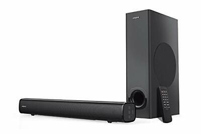 Creative Stage 2.1 Channel Under-monitor Soundbar with Subwoofer for TV