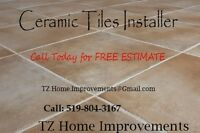 Premium Quality Ceramic and Porcelain Tiles Installations ......