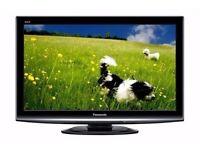 Panasonic TX-P37X10B 37-inch LCD Plasma 1080p TV Bulitin Freeview