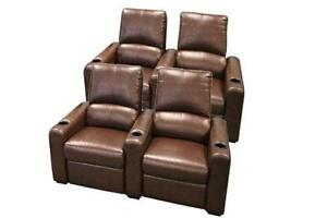 home theater seating 4 - Movie Theater Chairs