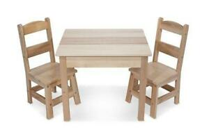 Charmant Kids Wooden Table And Chairs