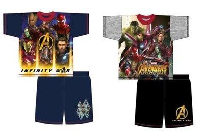 Jungen Avengers Schlafanzüge Schlafanzüge Unendlichkeit Krieg Shorts Sommer ()
