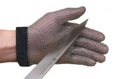 San Jamar Mga515m S/s Mesh Cut Protection Glove Medium