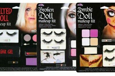 Puppe Make-Up Kits Zombie Horror Scary Puppen Kostüm Gesichtsfarbe - Scary Kostüm Puppen