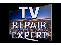 TV REPAIR SPECIALIST,NO FIX NO FEE,REPAIR SAMSUNG,LG,PANASONIC,SONY EVEN REPLACE BROKEN SCREEN