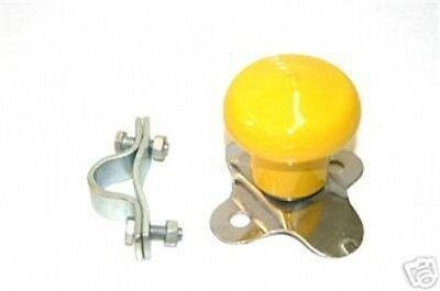 Tractor Steering Wheel Spinner Suicide Knob Yellow