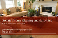 Meticulous Mature Reliable House Cleaner