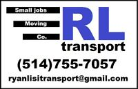 RL TRANSPORT - CARGO VAN MOVING SERVICES