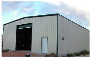 STEEL BUILDINGS & FLOATING FOUNDATIONS-COMPLETE D.I.Y PACKAGES