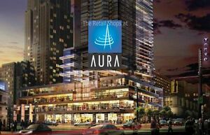 Aura Commercial Retail Unit for Lease/Rent (Yonge & Gerrard)
