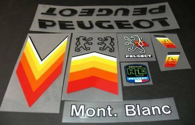 Peug-S111 Peugeot Super Sport Bicycle Decal Set