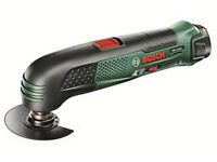 NEW - Bosch PMF 10,8 Li Cordless Multi Function Tool + EXTRA ATTACHMENTS !!