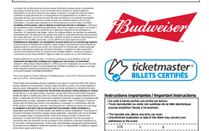 billet iron maiden centre videotron