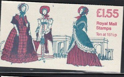 GREAT BRITAIN 1830-1850 Women's Costumes MNH booklet