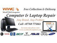 Computer & Laptop Repairs - Web Design and Maintenance