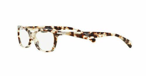 New PRADA Frames Acetate Opal Brown RX Eyeglasses PR15PV UAO