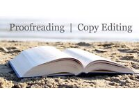 Copy-editing and proofreading service (including Academic)