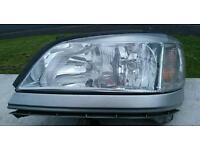 Near side front Vauxhall Zafira head light
