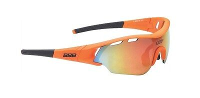 New BBB BSG-5016 Summit sunglasses with mirror lens, orange