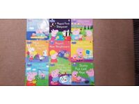 9 Peppa Pig Story Books