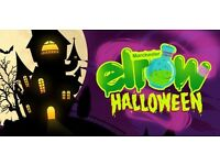Elrow tickets x 4 - Halloween raving in Manchester