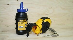 dewalt dwe47143 Chalk Reel and Kit, Blue neufffff