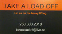 Moving help in Vernon and the North Okanagan - Take A Load Off