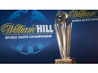 4x darts tickets world champs