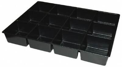 Kennedy Tool Box Durable Abs Plastic Organizer 25 Wide X 18-12 Deep X 4 H...