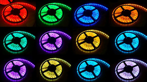 16.4ft RGB 20 Colors Led Strip Lights Waterproof Smd 5050