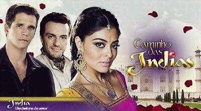 India  Una Historia De Amor Novela Brasilena 25 Dvds