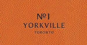 No. 1 Yorkville Condos, Yonge and Bloor, Great project!