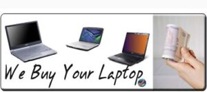 WE BUY YOUR NEW AND USED LAPTOPS FOR CASH
