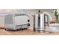 Dualit classic kettle and toaster